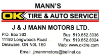 Mann's OK Tire and Auto Service